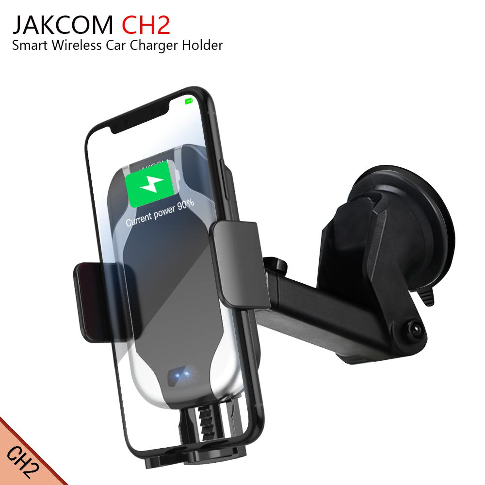JAKCOM CH2 Smart Wireless Car Charger Holder Hot sale in Chargers as power bank 18650 charger 18650 battery charger