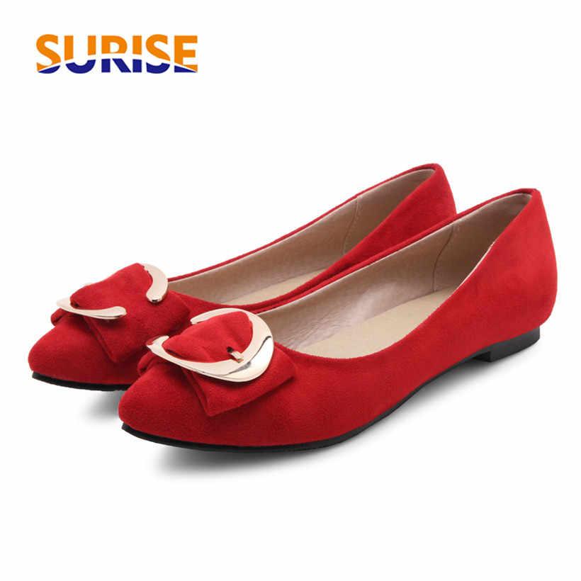 076d7125d Большой Размеры повседневные женские туфли-лодочки 1 см Низкий квадратный  каблук из флока острый носок
