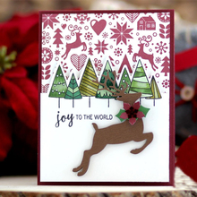 Christmas Tree Silicone Clear Stamp DIY Handicraft Stencil Photo Album Card Making Template Decoration Background