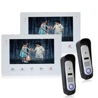 Homefong Водонепроницаемый цифровой дверной звонок Handfree домофон с Камера телефон двери монитор Поддержка Ночное видение