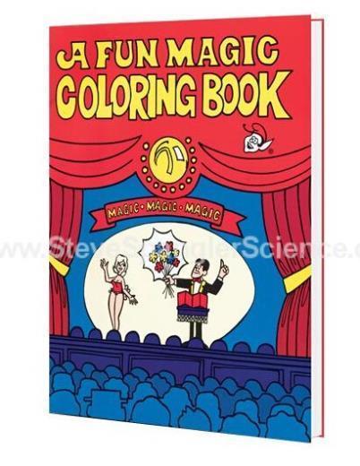 Un Plaisir Magique Coloring Book, Moyen Taille (20.5 cm * 13.5 cm) Tours de Magie Meilleur pour les Enfants Magie Stade Gimmick Illusion Mentalisme Drôle