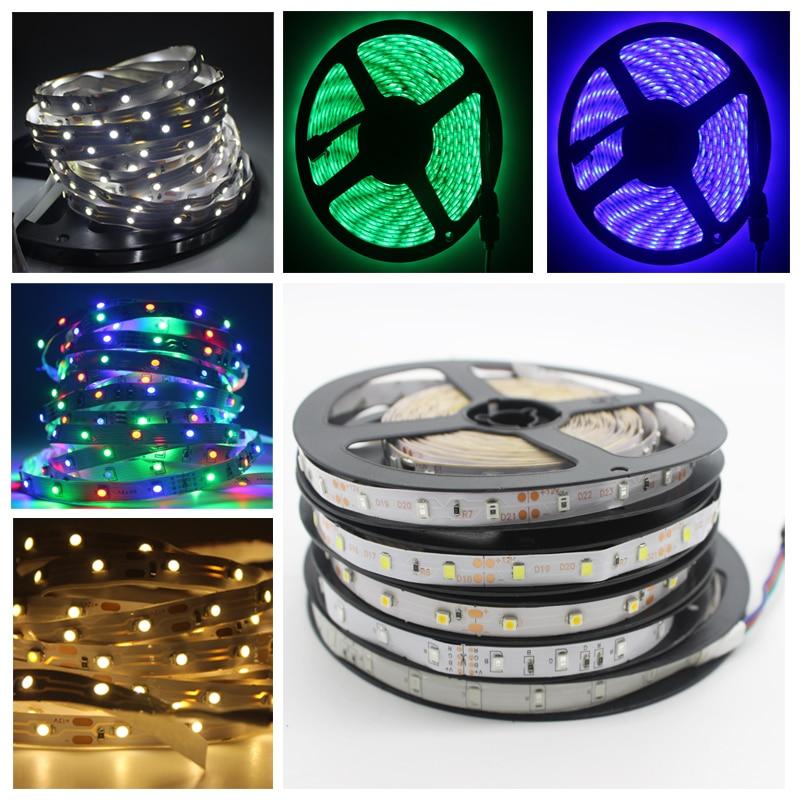DC12V 5M 3528//RGB waterproof SMD 300//LED Light Strip Flexible Ribbon Tape lamp