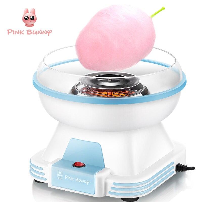 Cotton Candy Maker Électrique Mini-Ménage BRICOLAGE Sucre Machine Pour Cotton Candy Soie Douce Les Transformateurs D'aliments Machine Enfants Cadeau
