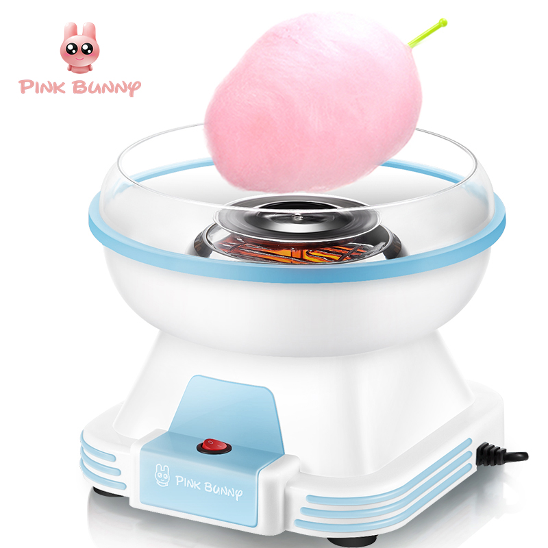 Cotton Candy Maker Electric Mini Household DIY Sugar Machine For Cotton Candy Sweet Floss Food Processors