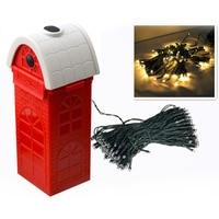 QF 167A10 Salt Water Powering Christmas Lamp String Christmas Day Lights Innovation Upgrading LED Lanterns Light
