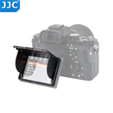 JJC Universele 3.0 inch Lcd scherm Hood Protector Cover voor Sony/Canon/Fujifilm DSLR Camera Zwart Pop  up Case