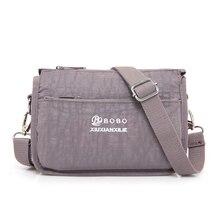 Водонепроницаемый нейлон Для женщин Курьерские сумки маленький кошелек сумка женские сумки через плечо Сумки Bolsa тотализатор Повседневное клатч