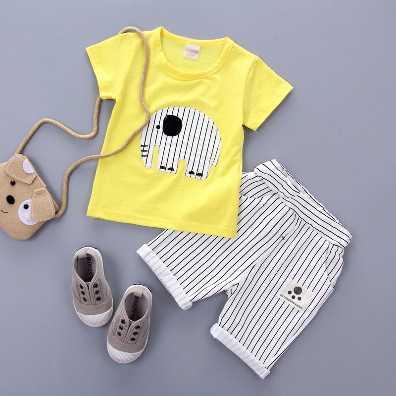 Summer Childrens Clothing Sets Baby Boy Casual Suit Sets Infant Clothing Suits Set Cotto ...