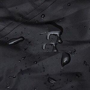 Image 5 - Yeni Açık Bahçe muz şemsiye Kapağı Su Geçirmez Oxford Bez Veranda Çıkıntı Şemsiye yağmur kılıfı Aksesuarları Yağmur Dişli