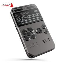 Portable HD Studio Digital Audio Sound Voice Recorder Dictaphone WAV MP3 Player Recording Pen 50m Noise Reduction Support 64G