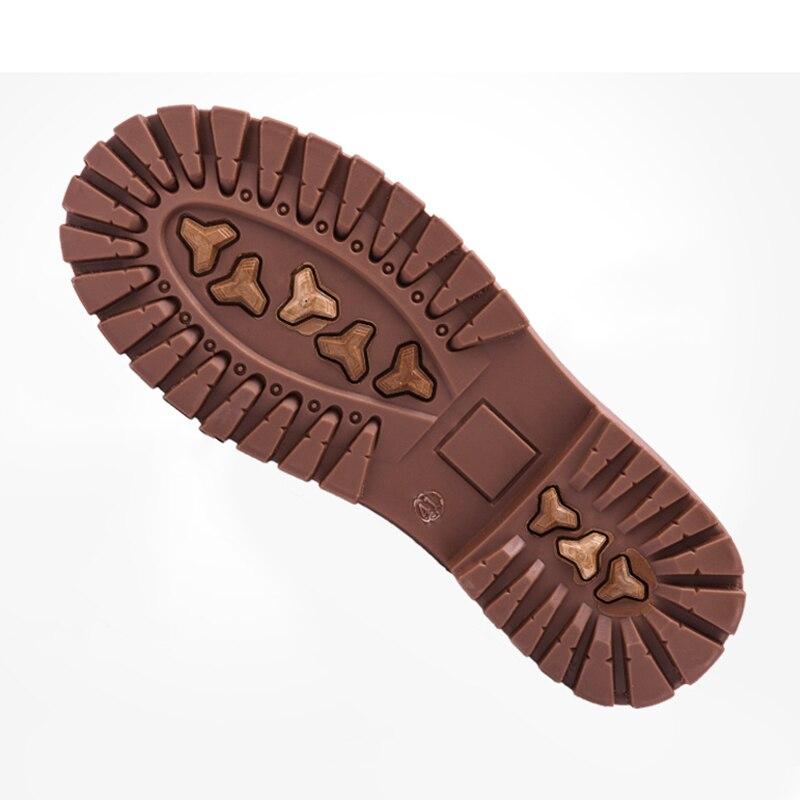 En Occasionnels Black Cuir Marque Mocassins Pliant brown Chaussures Air Bureau khaki Couture De dérapant Plein Oxfords Souple Anti Nouvelle Vogue Hommes nqtIUU