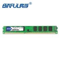 Binful Orignal New Brand DDR3 4GB PC3 8500 1066mhz PC3 10600 1333mhz PC3 12800 1600mhz For