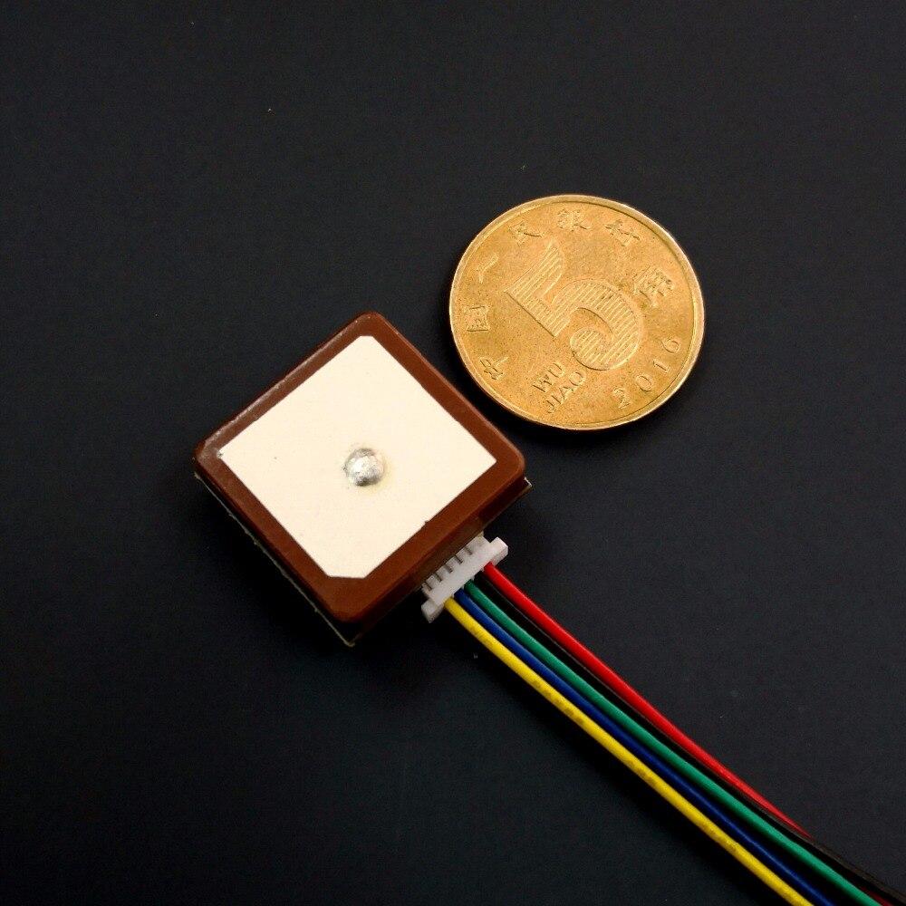Nuevo módulo GLONASS GPS GNSS de tamaño pequeño, solución de chip neo-m8n, diseño integrado de Módulo de antena nivel UART TTL