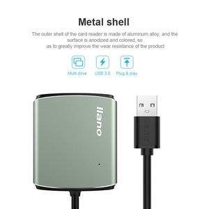 Image 4 - llano 4 in 1 USB 3.0 Smart Card Reader Flash Multi Memory Card Reader for TF / SD / MS / CF 4 Card Read micro SD usb flash card