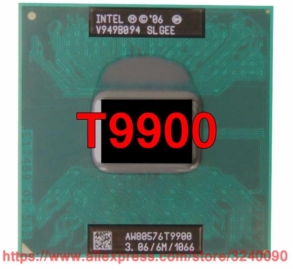 Lntel Core 2 Duo T9900 CPU Original, procesador portátil con 6 M de caché, 3,06 GHz, 1066 MHz FSB, Dual-Core, Envío Gratis