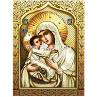 DIY Diamond Paintings Icons Love Bible Cross Stitch Home Decoration Rhinestone Wall Stickers Embroidery Needlework