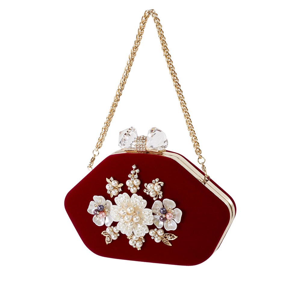 Ladies Velour Clutch Handbag Women Evening Bag Diamond Wedding Party Bag Women Bag Purse Chain Women Messenger Bags Day Clutch luxury crystal clutch handbag women evening bag wedding party purses banquet