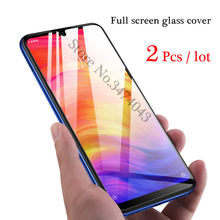 2Pcs/lot 9H Tempered Glass For Xiaomi redmi note 7 Pro Full Protective Film Screen Protector For Xiaomi redmi note 7 Pro Glass(China)