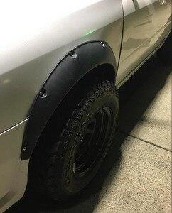 """Image 5 - Универсальный гибкий автомобильный брызговик 3,5 """"/90 мм, 4 шт., дополнительные широкие колесные арки"""
