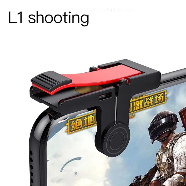 HEYNOW Mobile game controller for PUBG mobile game gamepad L1 R1 Shoot Handle Gamepad for Knives Out Trigger fire game joystick