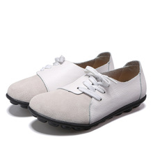цена на 2019 Fashion Plus Size Women Shoes Flats Woman Loafers Spring Summer Ladies Shoes Woman Ballet Flats Zapatos Mujer Size35-44