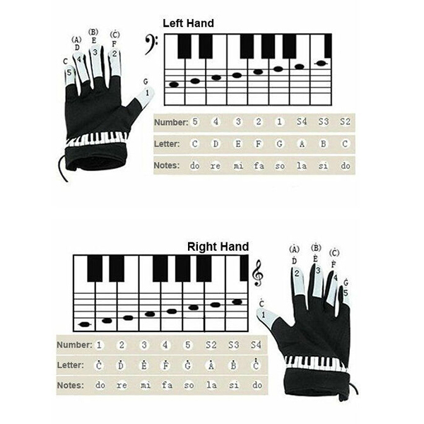 BMDT-Electronic Piano Gloves with Built-in Speaker 3