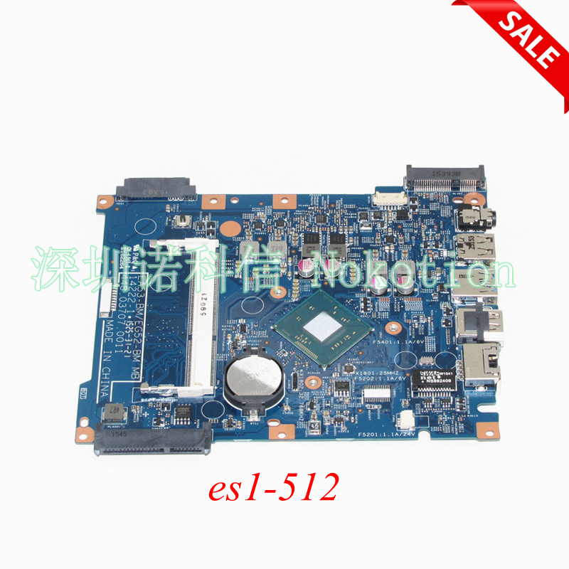 NOKOTION NBMRW11001 NB.MRW11.001 448.03707.0011 For acer aspire ES1-512 Laptop motherboard Main board Works цена