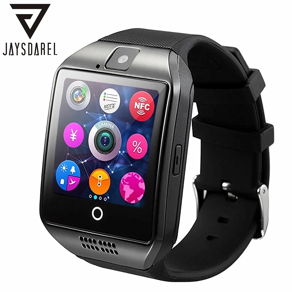 JAYSDAREL APRO Smart Watch Built-in 8GB Memory For Android iOS Support TF SIM Card NFC Camera Watch Phone PK GT08 DZ09 GV18 U8 100% new and original g6i d22a ls lg plc input module