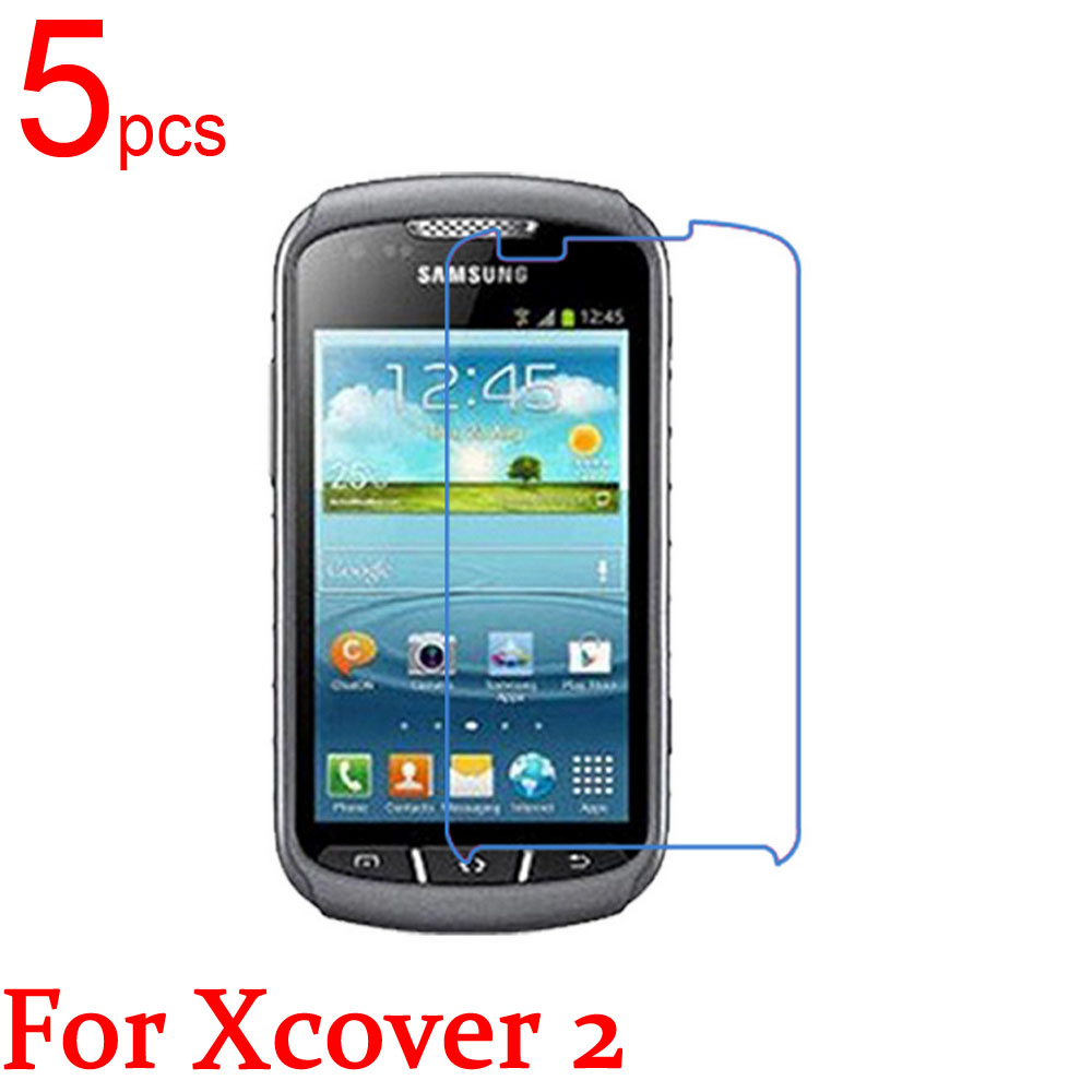 5 adet Temizle/Mat/Nano Için LCD Ekran Koruyucu Kapak Samsung GALAXY Xcover 2 3 4 VE S7710 SM-G388F G389F G390F koruyucu film