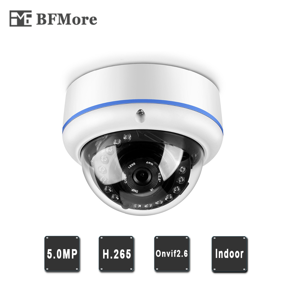 Video Surveillance Surveillance Cameras Systematic Bfmore 5mp 48v Poe Ip Camera H.265 Uhd 5.0mp Onvif2.6 Indoor Waterproof Security Video Surveillance P2p Email Alarm