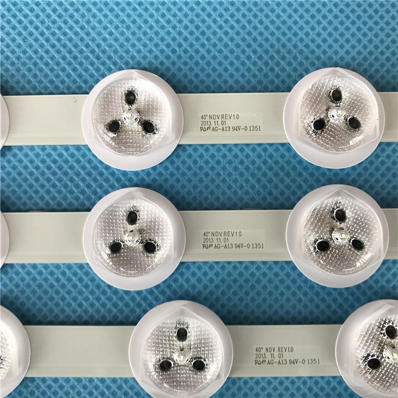 "led רצועת רצועת LED אחורית עבור 40"" VES400UNDS-03 VES400UNDS-01 40PFL3008H / 12 40PFL3008K / 12 40PFL3018K / 12 LT-40TW51 40L3453DB 42hxt12u (3)"
