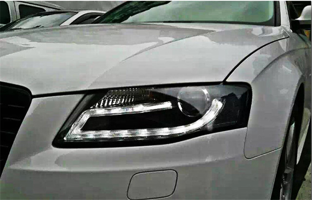 Vland Factory For Audi A4 Headlights 2009 2012 LED