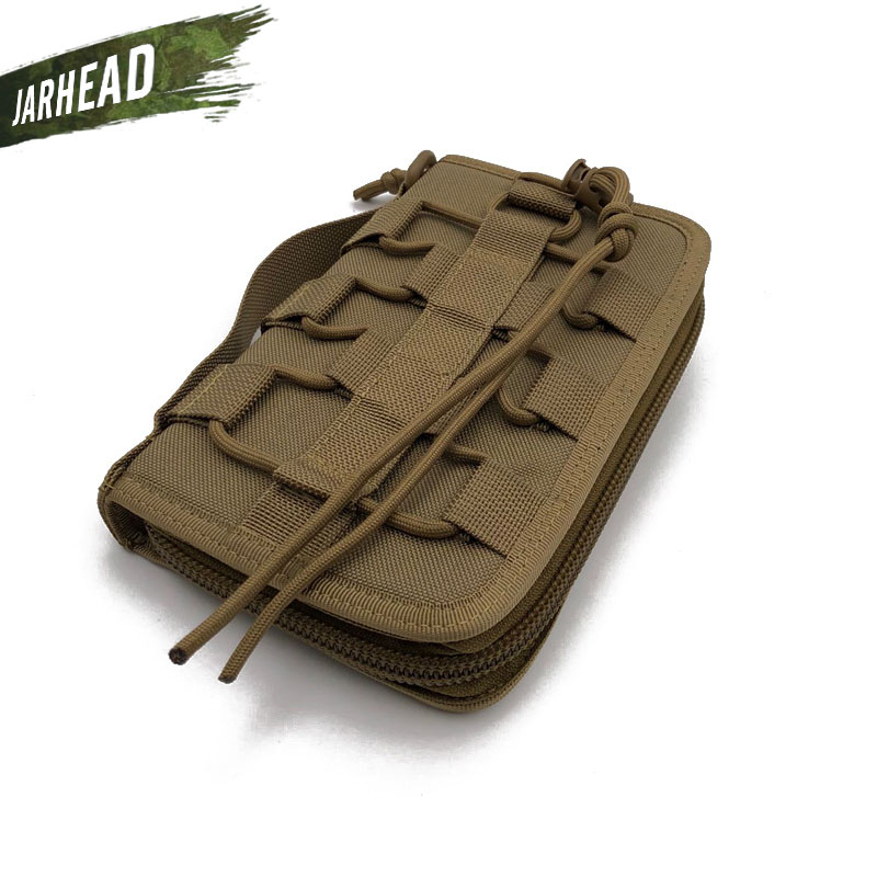 Outdoor Army Fan Tactical Hand Bag Camping Nylon Tool Bag Military Sports Wallet (20x12x3cm)
