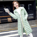 Fashion thick down cotton hooded jacket Slim 2016 winter coat explosion models Korean female long section