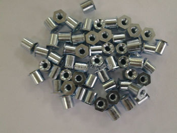 TSO-256-500   Thin head  threaded  standoffs,  carbon steel, plating zinc ,PEM standard,in stock, Made in china,