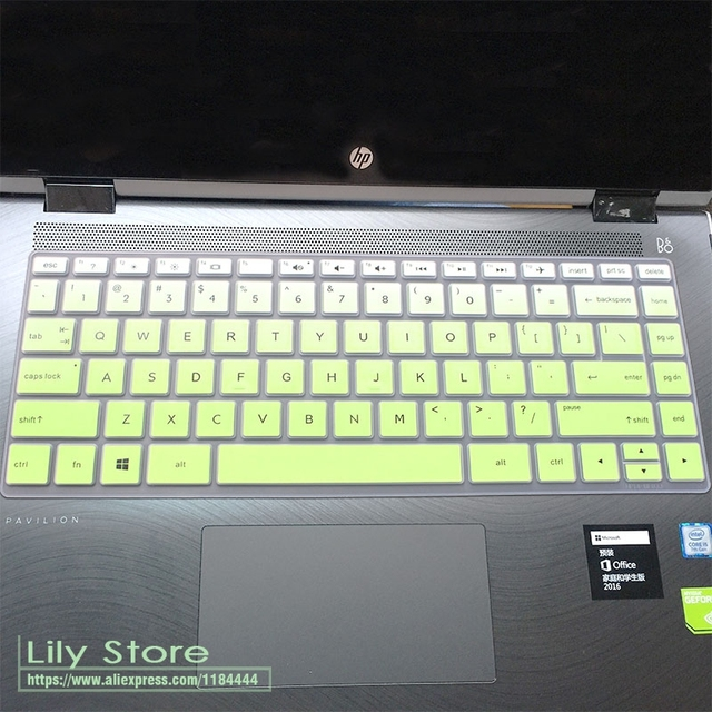 2017 15.6 inch Laptop keyboard Silicone Keyboard Protector Skin Cover for  HP Spectre x360 15 (2017new) 2c7d60ce5