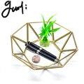 Guoyi S015 креативные стереоскопические латунь стеклянный офисный хранения Подставка для ручек  для хранения коробка & гостиничном номере укра...