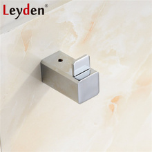 leyden sus 304 stainless steel clothes hook coat hooks wall mounted clothes drying rack chrome towel hanger bathroom accessories