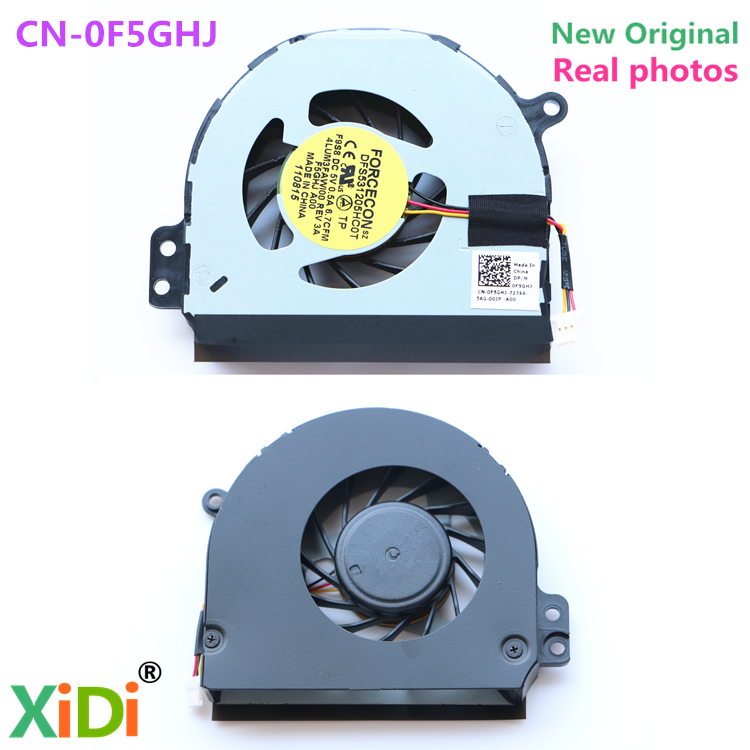 NEW Original FOR DELL INSPIRON 1464 P09G 1564 P08F 1764 P07E F5GHJ N4010 CPU COOLING FAN FORCECON DFS531205HC0T F9S8 CN-0F5GHJ ноутбук dell inspiron 3567