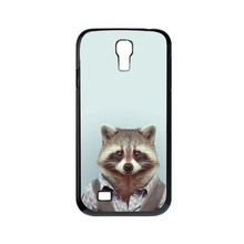 Fashion Man Shape Animal Funny Hot Sale Cute UV Black Bag Case For Samsung S4 mini