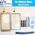 Maya Bluboo Pantalla Táctil Digitalizador Cristal Del Panel Táctil Digitalizador 100% de Garantía Original Para Bluboo Maya + tool + Adhesivo