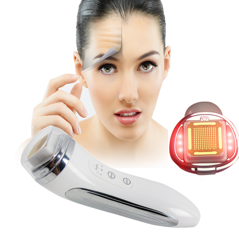 Charging Dot Matrix RF Radio Frequency Facial Wrinkle Removal Body Care SKin tightening Face massager Skin rejuvenation Device