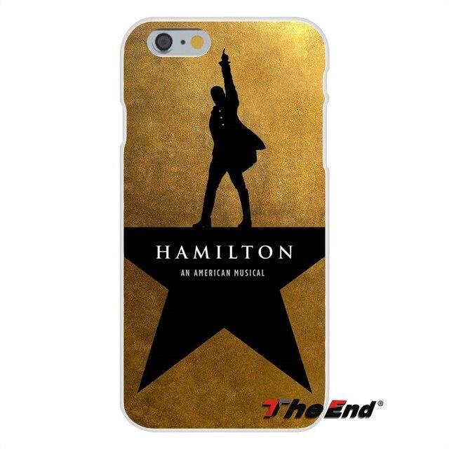 For iPhone X 4 4S 5 5S 5C SE 6 6S 7 8 Plus Galaxy Grand Core Prime Alpha Soft Silicone Case Hamilton Logo Gold Print