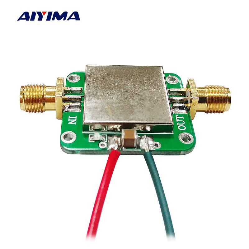 Aiyima 50 M-6 GHz RF Amplificateur Conseil Large Bande de Gain Amplification À Faible Bruit Moyenne Amplificateur Module Gain 19dB Pour FM GPS WIFI