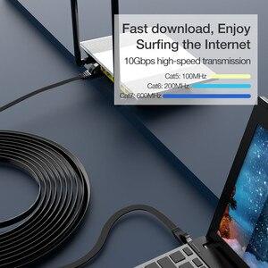 Image 2 - Cable Lan Coolreall, cable RJ45 cat 7, Cable rj 45 de red Ethernet Compatible con Cat6, Cable de parche para portátil, Cable de enrutador