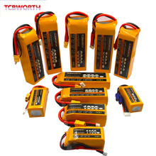 18.5V 5S RC Toys LiPo Battery 1100 1500 2600 3000 3800 5000mAh 30C 40C For RC Airplane Drone Helicopter Car Boat 5S Battery LiPo
