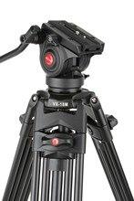 1,8 м Viltrox VX-18M Pro Heay Duty алюминий видео штатив + жидкость головкой сумка для камера DV DSLR очень стабильный