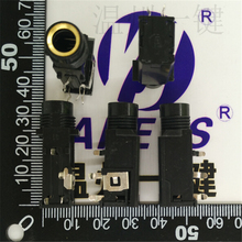 4 PCS PJ-6030 high-quality gold-plated 6.35MM socket microphone socket stereo headphone socket specifications цена