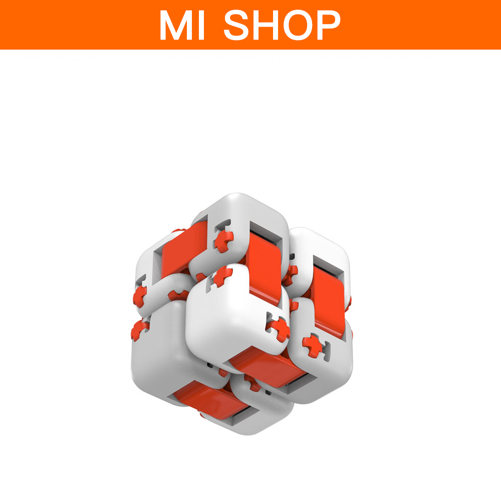 2pcs Original Xiaomi Mitu Cube Spinner Finger Bricks Fidget Building Blocks Itelligence Portable Smart Finger Toys For Children