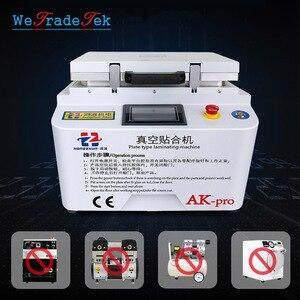 Newest AK Pro 2 in 1 Vacuum OCA Laminating Machine Bubble Removal Machine for Phone LCD Screen Refurbish Repair(China)